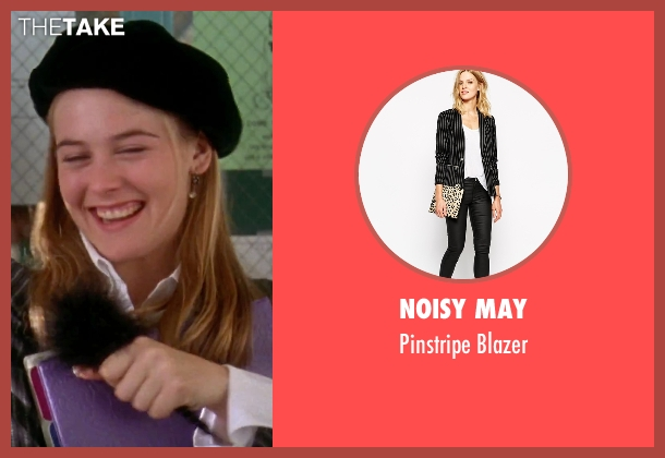 Noisy May black blazer from Clueless seen with Alicia Silverstone (Cher)