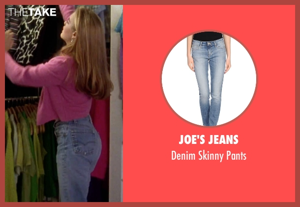 Joe's Jeans blue pants from Clueless seen with Alicia Silverstone (Cher)