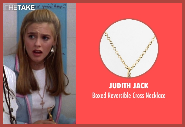 Judith Jack gold necklace from Clueless seen with Alicia Silverstone (Cher)