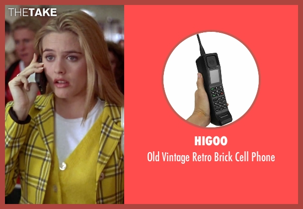 Higoo phone from Clueless seen with Alicia Silverstone (Cher)