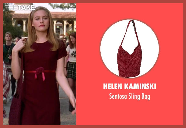 Helen Kaminski red bag from Clueless seen with Alicia Silverstone (Cher)