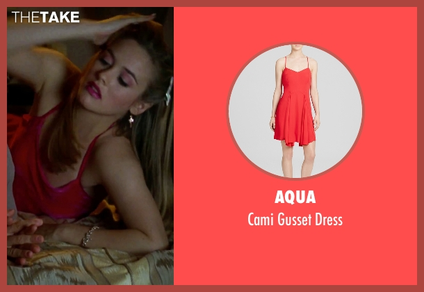 Aqua red dress from Clueless seen with Alicia Silverstone (Cher)