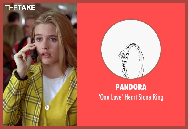 Pandora silver ring from Clueless seen with Alicia Silverstone (Cher)