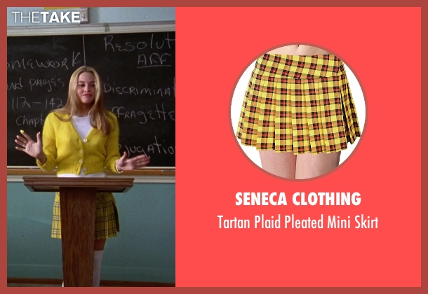 Seneca Clothing skirt from Clueless seen with Alicia Silverstone (Cher)