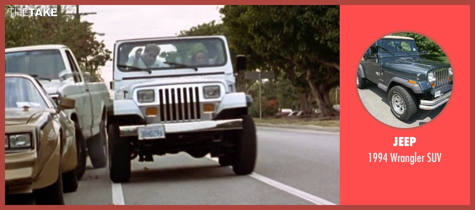 Jeep suv from Clueless seen with Alicia Silverstone (Cher)