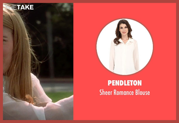 Pendleton white blouse from Clueless seen with Alicia Silverstone (Cher)