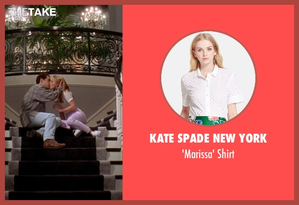 Kate Spade New York white shirt from Clueless seen with Alicia Silverstone (Cher)