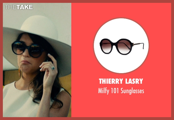 Thierry Lasry black sunglasses from The Man from U.N.C.L.E. seen with Alicia Vikander (Gaby Teller)