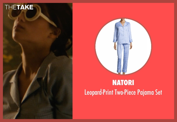 Natori blue set from The Man from U.N.C.L.E. seen with Alicia Vikander (Gaby Teller)