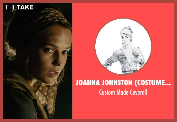 Joanna Johnston (Costume Designer) coverall from The Man from U.N.C.L.E. seen with Alicia Vikander (Gaby Teller)