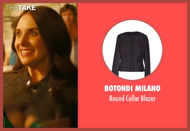 Botondi Milano gray blazer from How To Be Single seen with Alison Brie (Unknown Character)