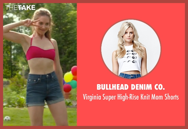 Bullhead Denim Co. blue shorts from Sleeping with Other People seen with Alison Brie (Lainey)