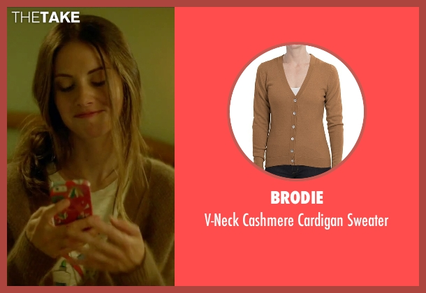 Brodie brown sweater from Sleeping with Other People seen with Alison Brie (Lainey)