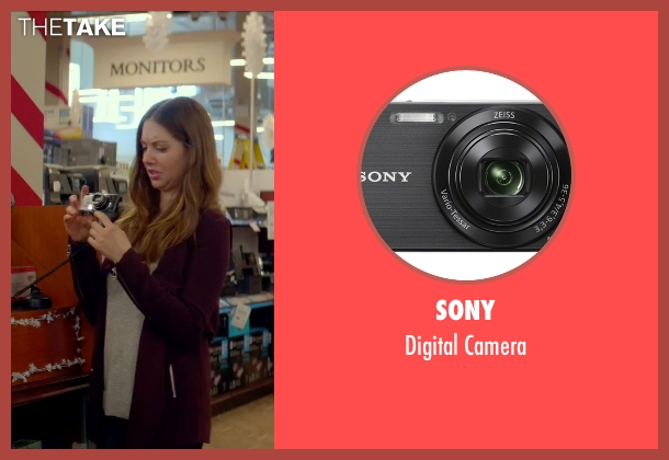 Sony camera from Sleeping with Other People seen with Alison Brie (Lainey)