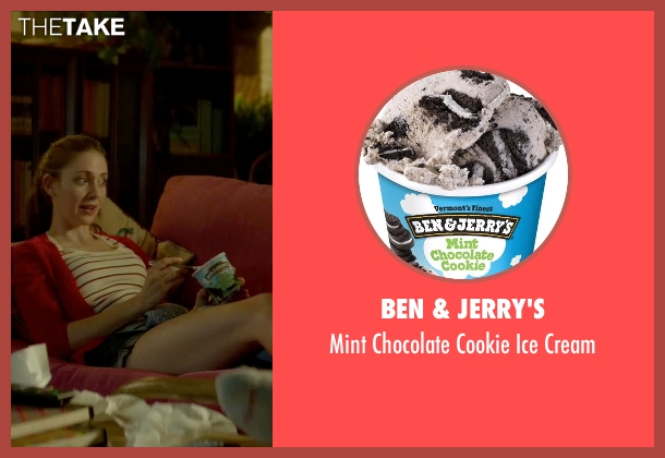 Ben & Jerry's cream from Sleeping with Other People seen with Alison Brie (Lainey)