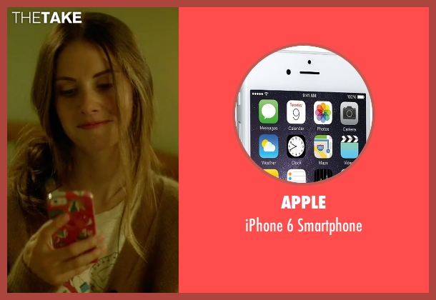 Apple smartphone from Sleeping with Other People seen with Alison Brie (Lainey)
