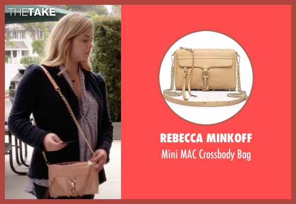 Rebecca Minkoff beige bag from Pretty Little Liars seen with Alison DiLaurentis (Sasha Pieterse)