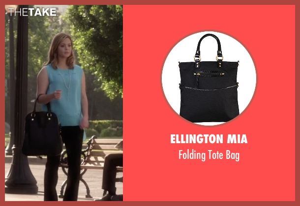 Ellington Mia black bag from Pretty Little Liars seen with Alison DiLaurentis (Sasha Pieterse)