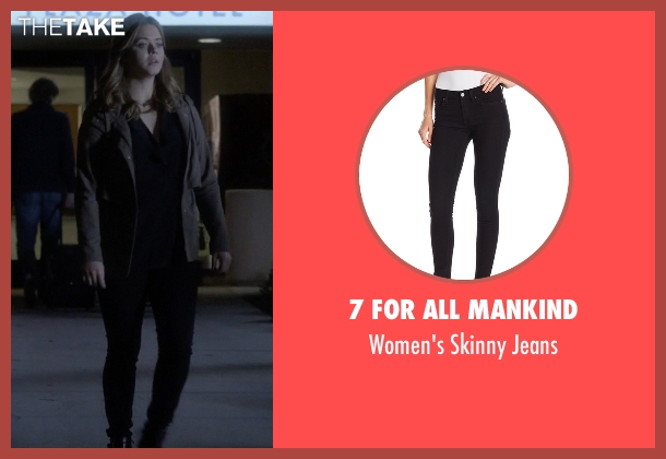 7 For All Mankind black jeans from Pretty Little Liars seen with Alison DiLaurentis (Sasha Pieterse)