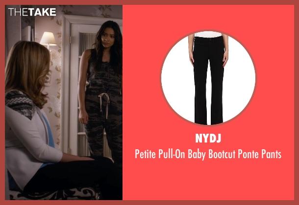 NYDJ black pants from Pretty Little Liars seen with Alison DiLaurentis (Sasha Pieterse)