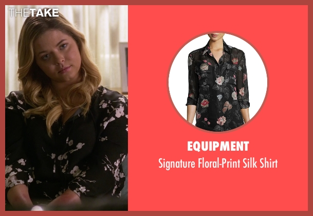 Equipment  black shirt from Pretty Little Liars seen with Alison DiLaurentis (Sasha Pieterse)