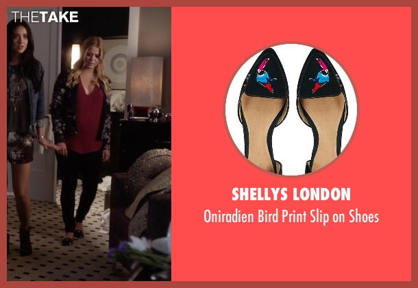 Shellys London black shoes from Pretty Little Liars seen with Alison DiLaurentis (Sasha Pieterse)