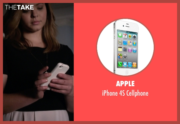 Apple cellphone from Pretty Little Liars seen with Alison DiLaurentis (Sasha Pieterse)