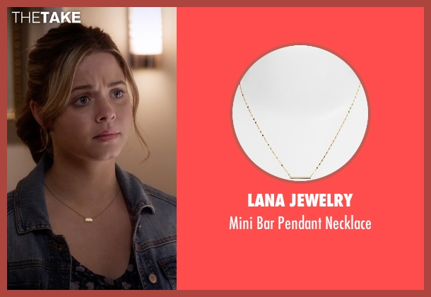 Lana Jewelry gold necklace from Pretty Little Liars seen with Alison DiLaurentis (Sasha Pieterse)