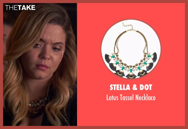 Stella & Dot necklace from Pretty Little Liars seen with Alison DiLaurentis (Sasha Pieterse)