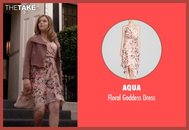 AQUA pink dress from Pretty Little Liars seen with Alison DiLaurentis (Sasha Pieterse)