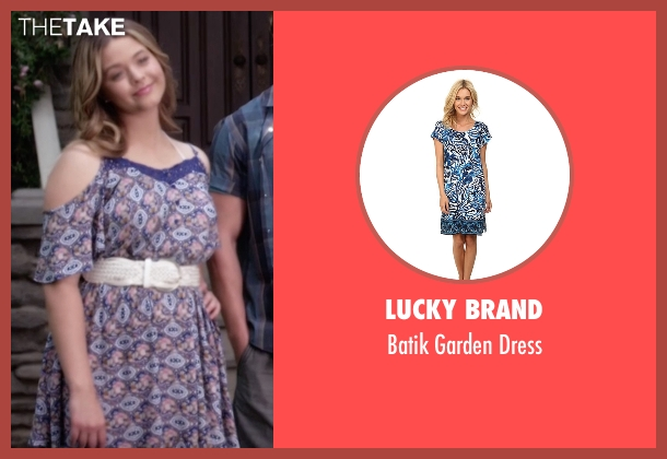 Lucky Brand purple dress from Pretty Little Liars seen with Alison DiLaurentis (Sasha Pieterse)