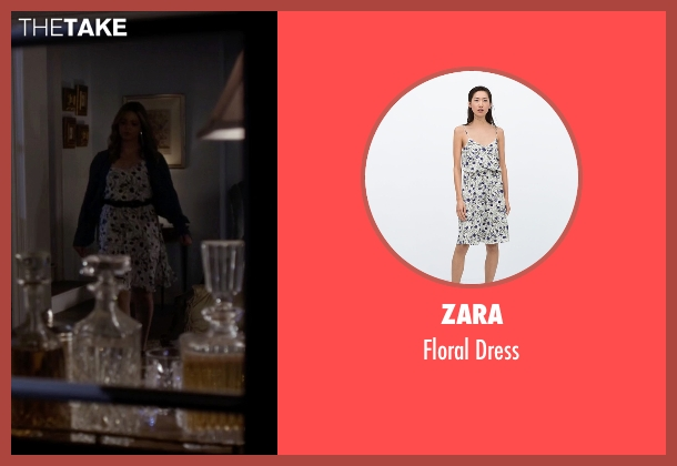 Zara white dress from Pretty Little Liars seen with Alison DiLaurentis (Sasha Pieterse)