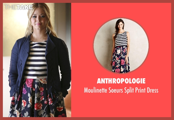 Anthropologie white dress from Pretty Little Liars seen with Alison DiLaurentis (Sasha Pieterse)
