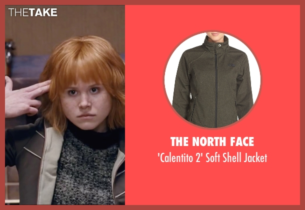 The North Face green jacket from Scott Pilgrim Vs. The World seen with Alison Pill (Kim Pine)