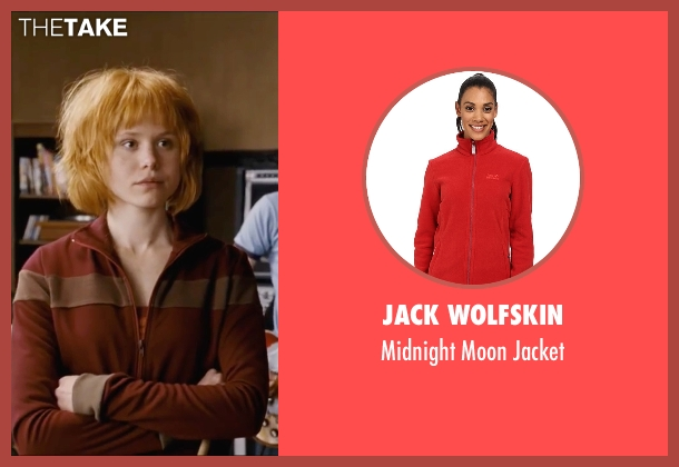 Jack Wolfskin red jacket from Scott Pilgrim Vs. The World seen with Alison Pill (Kim Pine)