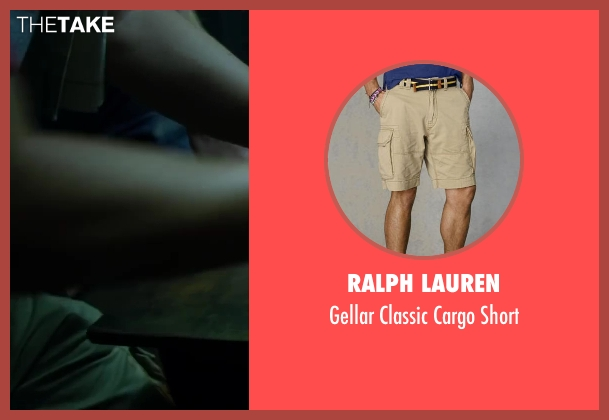 Ralph Lauren beige short from Project Almanac seen with Allen Evangelista (Adam)
