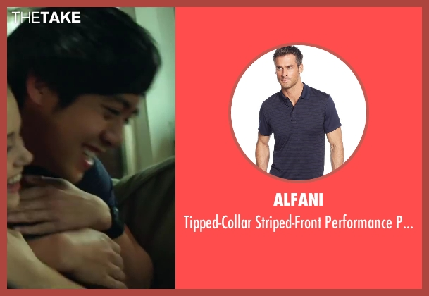 Alfani blue shirt from Project Almanac seen with Allen Evangelista (Adam)