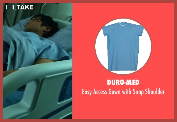 Duro-Med shoulder from Project Almanac seen with Allen Evangelista (Adam)