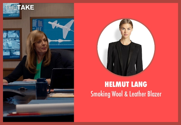 Helmut Lang black blazer from Spy seen with Allison Janney (Elaine Crocker)