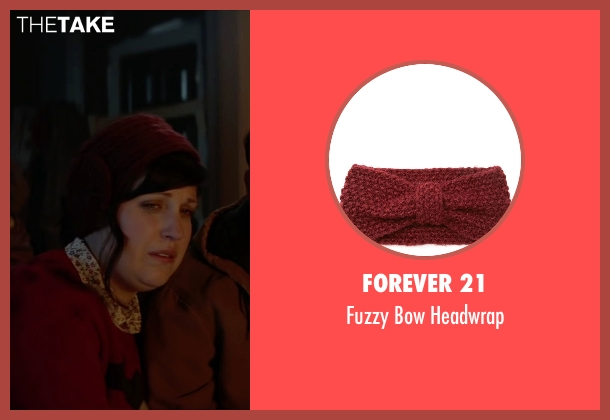 Forever 21 red headwrap from Krampus seen with Allison Tolman (Unknown Character)