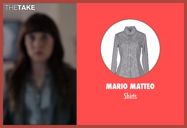 MARIO MATTEO gray shirts from Million Dollar Arm seen with Allyn Rachel (Theresa)