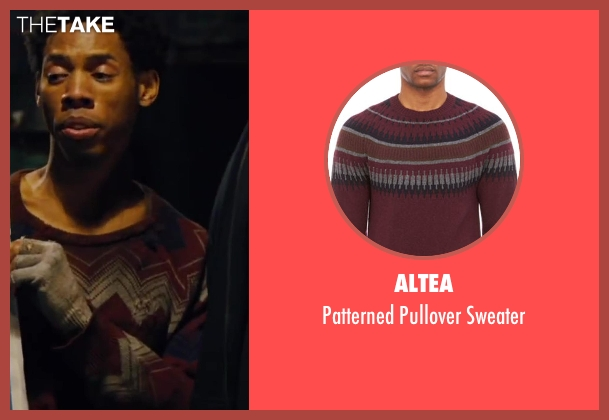 ALTEA sweater from Walk of Shame seen with Alphonso McAuley
