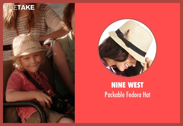 Nine West hat from Blended seen with Alyvia Alyn Lind (Lou Friedman)