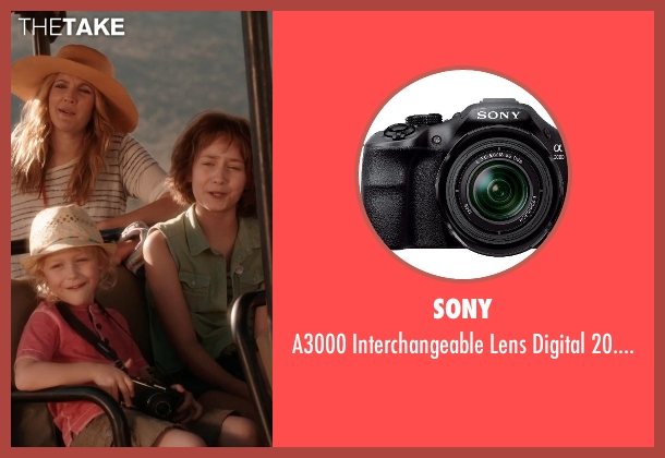Sony lens from Blended seen with Alyvia Alyn Lind (Lou Friedman)