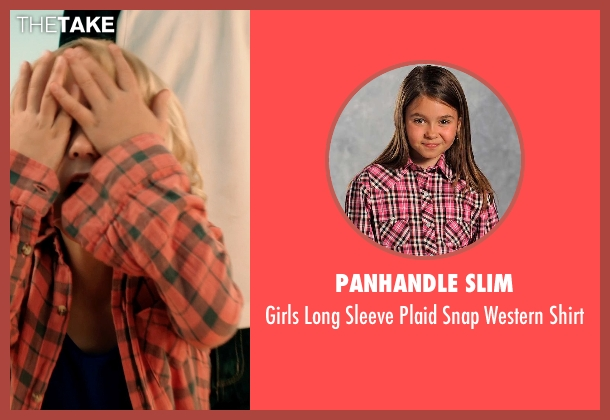 Panhandle Slim pink shirt from Blended seen with Alyvia Alyn Lind (Lou Friedman)