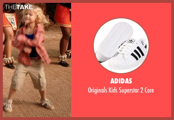 adidas white core from Blended seen with Alyvia Alyn Lind (Lou Friedman)