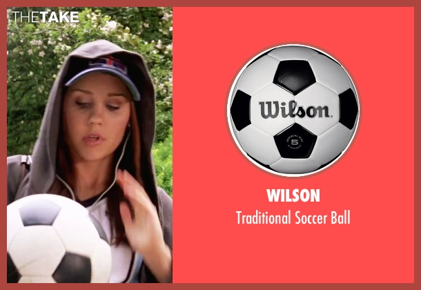 Wilson ball from She's The Man seen with Amanda Bynes (Viola)