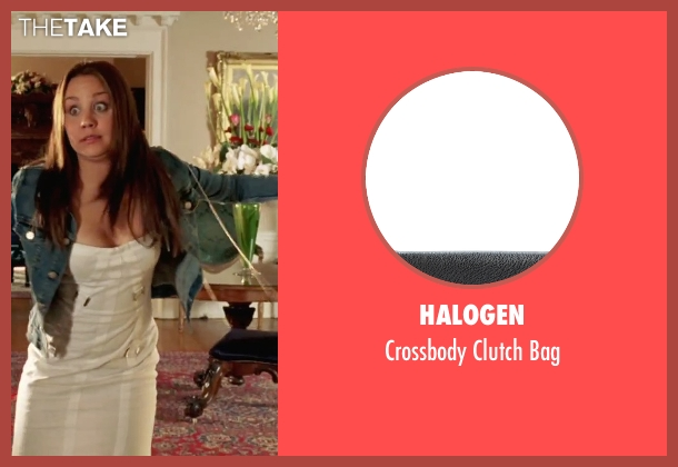 Halogen black bag from She's The Man seen with Amanda Bynes (Viola)
