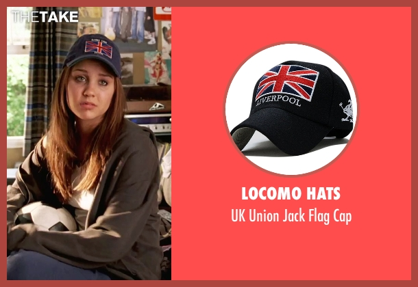 Locomo Hats black cap from She's The Man seen with Amanda Bynes (Viola)