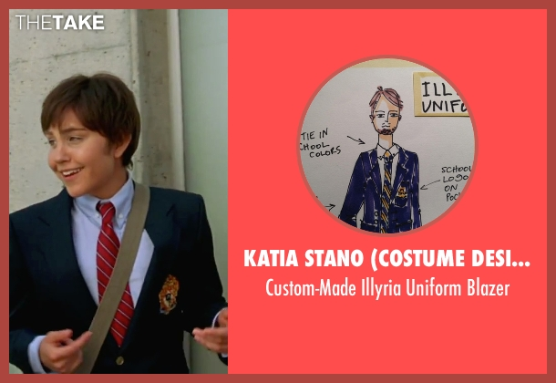 Katia Stano (Costume Designer) blue blazer from She's The Man seen with Amanda Bynes (Viola)